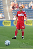 22 May2010:  Chicago Fire midfielder Justin Mapp (21) during the consolation match of the Chicago Sister Cities Cup between the Chicago Fire and Legia Warsaw at Toyota Park in Bridgeview, Illinois.  Legia Warsaw defeated the Fire 3-0.<br /> Mandatory Credit: John Rowland / Southcreek Global