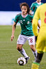 10 May 2010:  Mexico midfielder Andres Guardado (18) makes a move with the ball during the international friendly match between Mexico and Senegal at Soldier Field, Chicago, IL.<br /> Mandatory Credit: John Rowland / Southcreek Global