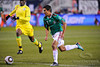 10 May 2010:  Mexico forward Alberto Medina (11) dribbles the ball during the international friendly match between Mexico and Senegal at Soldier Field, Chicago, IL.<br /> Mandatory Credit: John Rowland / Southcreek Global