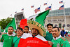 10 May 2010:  Mexican fans prior to the international friendly match between Mexico and Senegal at Soldier Field, Chicago, IL.<br /> Mandatory Credit: John Rowland / Southcreek Global