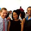Geoffrey Knapp, Laurie Perez, Erin Corbett at the Capitol Squash Gala