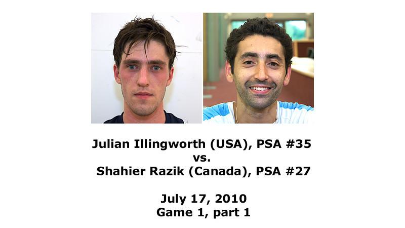 2010 Razik vs Illingworth (World Class Squash Adult Squash Camp)