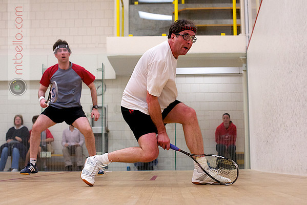 2011 Smith College United Way Squash Tournament - Steven O'Brien and Michael T. Bello