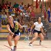 2011 Women's World Junior Squash Championships - 4th Round: Olivia Blatchford (USA) and Melissa Alves (France)
