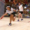 2011 Women's World Junior Squash Championships - 4th Round: Ka-Po Ho (Hong Kong) and Nour El Sherbini (Egypt)