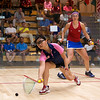 2011 Women's World Junior Squash Championships - 4th Round: Amanda Sobhy (USA) and Tan Yan Xin (Malaysia)