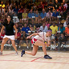 2011 Women's World Junior Squash Championships - Quarterfinals: Amanda Sobhy (USA) and Mariam Metwally (Egypt)