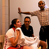 Nouran El Torky (Egypt) and her coaches