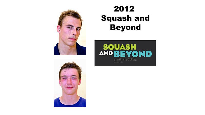 2012 Squash and Beyond Videos
