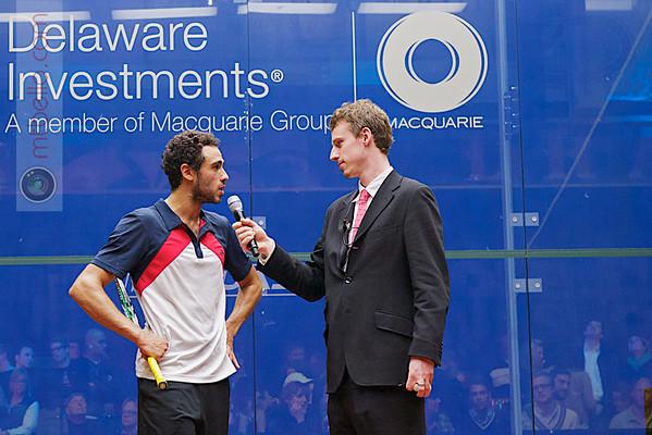 2012 Deleware Investments U.S. Open Squash Championships: Ramy Ashour and Chris Gordon