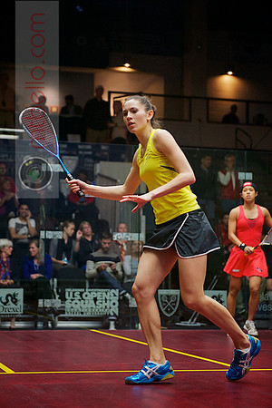 2012 Deleware Investments U.S. Open Squash Championships - Semifinal: Joelle King (New Zealand)