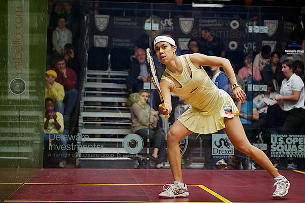 2012 Deleware Investments U.S. Open Squash Championships Women's Quarterfinal: Nichol David (Malaysia)