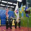 2012 Deleware Investments U.S. Open Squash Championships: Color guard