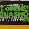 2012 Deleware Investments U.S. Open Squash Championships: Signage