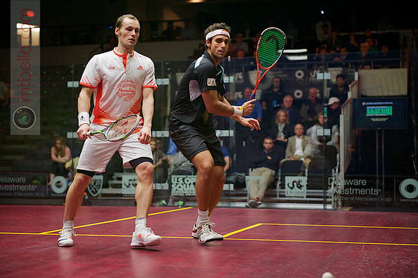 2012 Deleware Investments U.S. Open Squash Championships - Quarterfinals: Gregory Gaultier (France) defeated Karim Darwish (Egypt)
