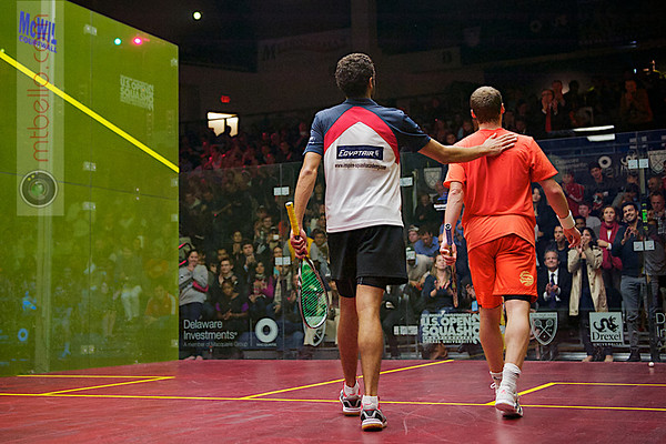 2012 Deleware Investments U.S. Open Squash Championships - Final: Ramy Ashour (Egypt) defeated Greg Gaultier (France)