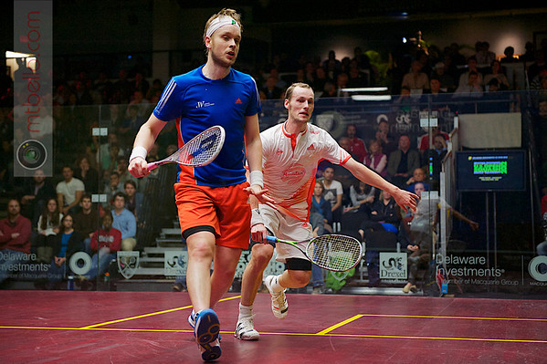 2012 Deleware Investments U.S. Open Squash Championships Semifinal: Gregory Gaultier (France) defeated James Willstrop (England)