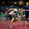 2012 Deleware Investments U.S. Open Squash Championships Semifinal: Ramy Ashour (Egypt) defeated (Nick Matthew (England)