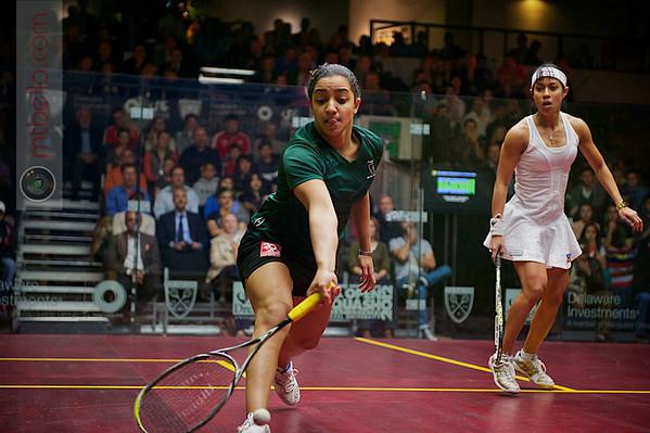 2012 Deleware Investments U.S. Open Squash Championships - Final: Nicol David (Malaysia) defeated Raneem El Weleily (Egypt)