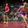 2012 Deleware Investments U.S. Open Squash Championships - Semifinal: Raneem El Weleily (Egypt) defeated Laura Massaro (England)