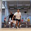 2012 World Class Squash Camp: Shahier Razik (Canada) and Lekgotla Mosope (Botswana)