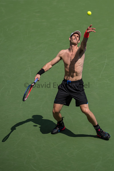 AUG 26, 2018: Andy Murray (GBR) at the 2018 U.S. Open Tennis Championships at the USTA Billie Jean King National Tennis Center in Flushing, Queens, New York, USA.