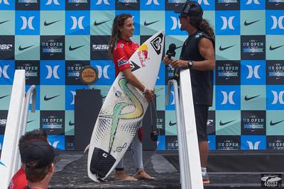Sally Fitzgibbons! Pretty Professional Woman Surfer @ Huntington Beach