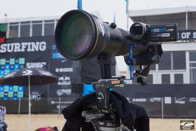Nikon D4 with AF-S Nikkor 600mm f/4G ED VR & Video Camera @ Huntington Beach!