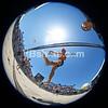 Troy Field, circular fisheye, selfie