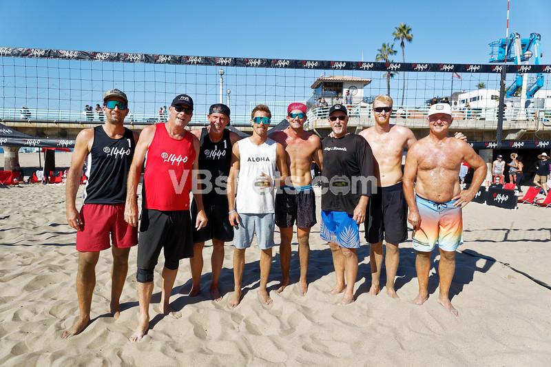 Sean Rosenthal, Tim Hovland, Mike Dodd, Taylor Crabb, Troy Field, Sinjin Smith, Chase Budinger, Steve Obradovich