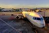 Sleeping B-757 before SFO -> Maui Flight