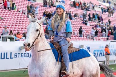 AAF Football. Salt Lake Stallions vs San Diego Fleet in Salt Lake City at Rice-Eccles Stadium 03-30-2019. Stallions defeat the Fleet 8-3. ©2019 Bryan Byerly