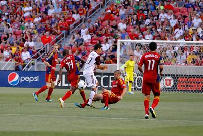 Real Salt Lake vs Colorado Rapids 7-21-12