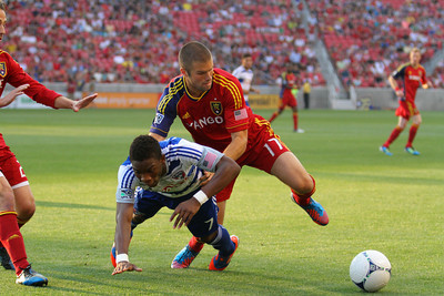 Real Salt Lake vs Dallas 8-18-2012