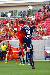 Real Salt Lake vs Carolina Railhawks * Open Cup 6-26-2013. Alvaro Saborio (15)