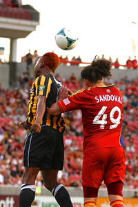 Real Salt Lake vs Charleston Battery • Open Cup 6-12-2013. RSL Defeats Charleston 5 - 2. Devon Sandoval (49)