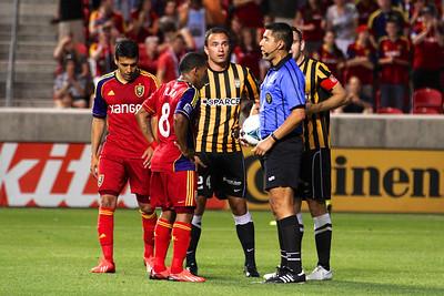Real Salt Lake vs Charleston Battery • Open Cup 6-12-2013. RSL Defeats Charleston 5 - 2. Joao Plata (8)