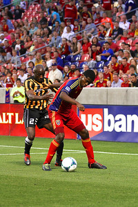 Real Salt Lake vs Charleston Battery • Open Cup 6-12-2013. RSL Defeats Charleston 5 - 2. Olmes Garcia (13)