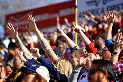 Real Salt Lake vs Colorado Rapids 3-16-2013. Crowd
