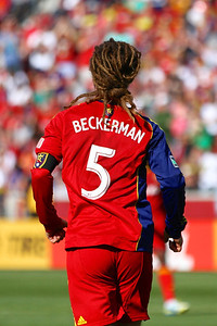 Real Salt Lake vs Colorado Rapids 3-16-2013. Kyle Beckerman (5)