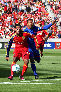 Real Salt Lake vs Colorado Rapids 3-16-2013. Robbie Findley (10)