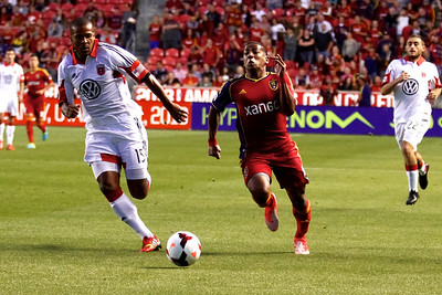 Real Salt Lake vs DC United • Open Cup Final 10-1-2013. RSL loses to DC United 0-1.