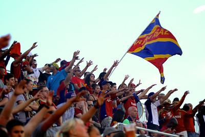 Real Salt Lake vs Houston Dynamo 8-10-2013. RSL defeats Houston 1-0.