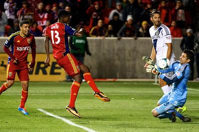 Real Salt Lake vs Los Angeles 11-7-2013    22