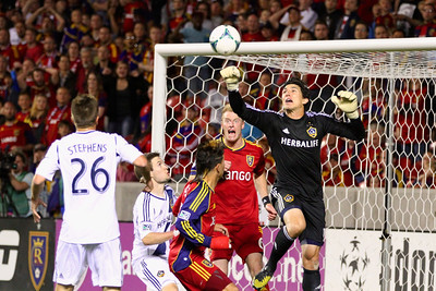 Real Salt Lake vs Los Angeles Galaxy 4-27-2013.