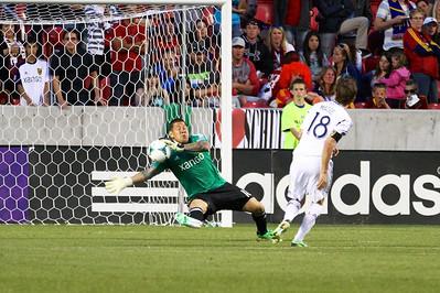 Real Salt Lake vs Los Angeles Galaxy 4-27-2013. Nick Rimando (18)