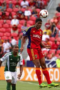 Real Salt Lake vs Portland Timbers • Open Cup 8-7-2013. RSL defeats Portland 2-1. Khari Stephenson (23)
