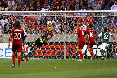Real Salt Lake vs Portland Timbers • Open Cup 8-7-2013. RSL defeats Portland 2-1. Nick Rimando (18)