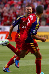 Real Salt Lake vs Portland Timbers • Open Cup 8-7-2013. RSL defeats Portland 2-1. Álvaro Saborío (15) & Chris Wingert (17)
