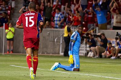 Real Salt Lake vs Portland Timbers • Open Cup 8-7-2013. RSL defeats Portland 2-1.
